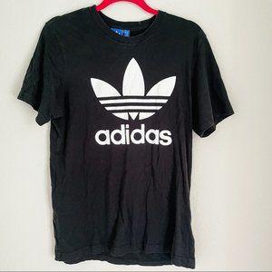Adidas Black Logo Tshirt Size Medium